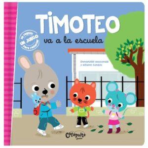 libro didactico timoteo va a la escuela
