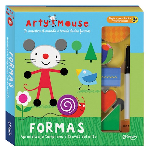 Arty-mouse formas juguete didactico