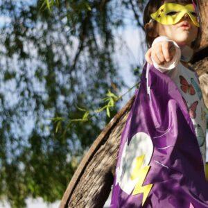 Disfraz superheroina-Ecolecua