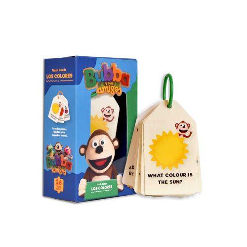 Flash-cards-los-colores-BUBBA jugueteria didactica