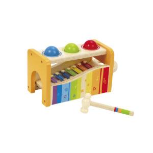 Hape-banco-descarga-y-xilofon