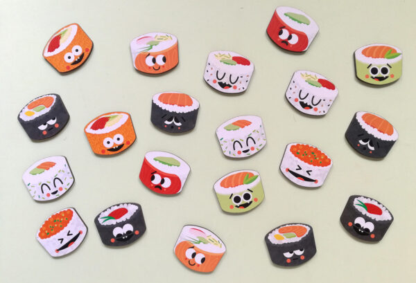 Memotest_Sushi juguete didacticos