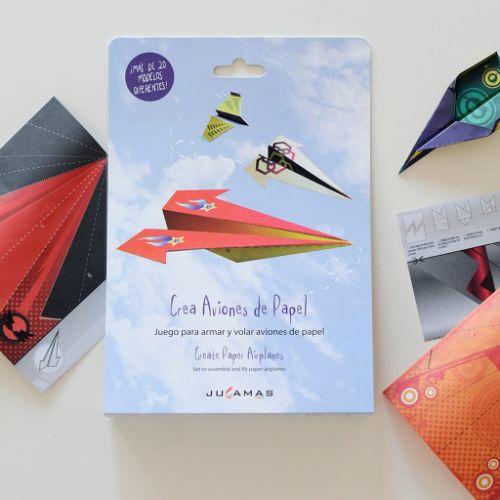 Pocket-crea-aviones-de-papel-jugamas-juguetes-didacticos