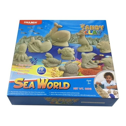 Sandy-Clay-Sea-World. juguete didactico