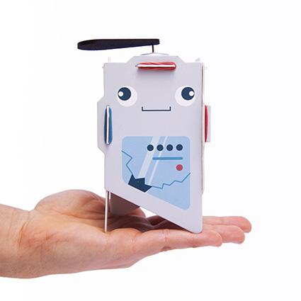 robot para armar juguete didactico