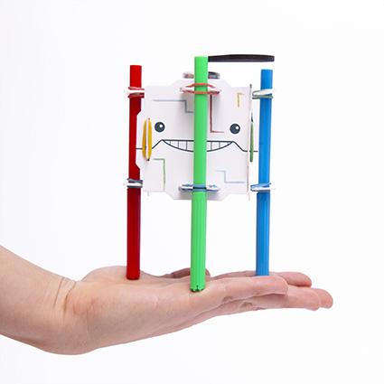 berto robot para armar juguete didactico