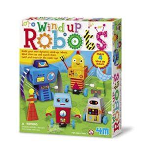 WIND-UP-ROBOTS-4m juguete didactico