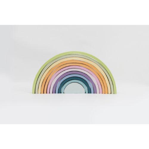 arcoiris-pastel- juguete didactico