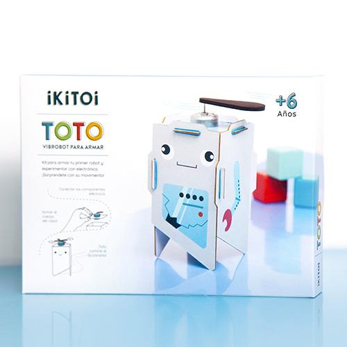 toto robot para armar juguete didactico
