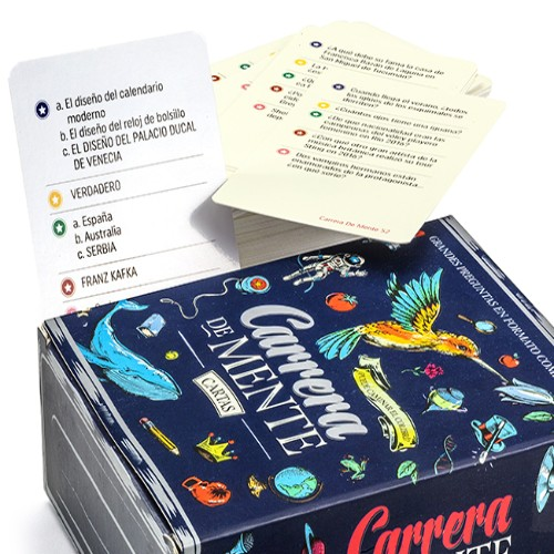 cartas-carrera-de mente juego de mesa