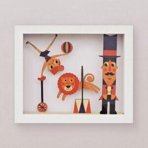 circus-woodaloo cuadro decorativo