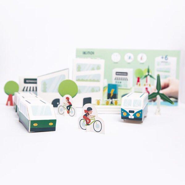 ciudad-sustentable- para armar juguete didactico