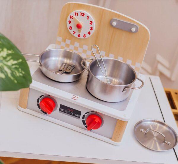 cocina y grill de juguete