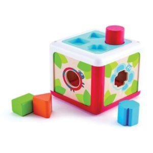 cubo de formas hape jugueteria online