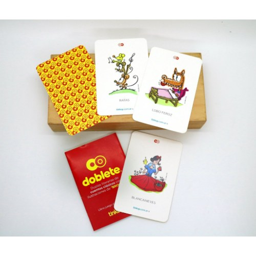 doblete-tinkuy. juego de cartas