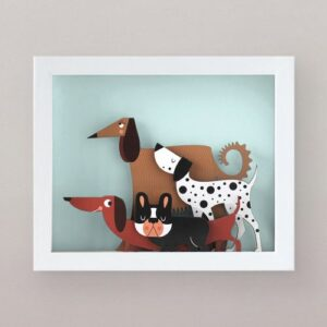 doggy-band-woodaloo cuadro decorativo