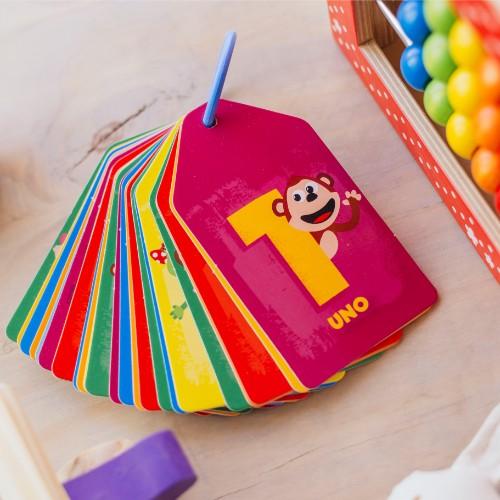 flashcard-numero-bubba actividades para ninos