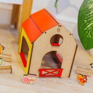 granja de juguete para ninos