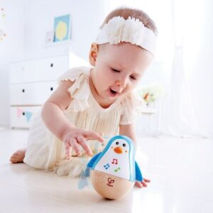 hape-pinguino-musical juguete para bebes