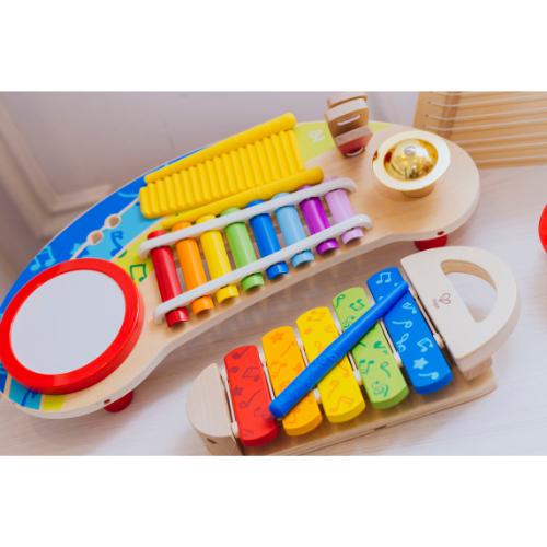 instrumentos musicales para jugar