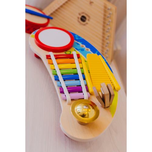 xilofon y citara hape juguete didactico