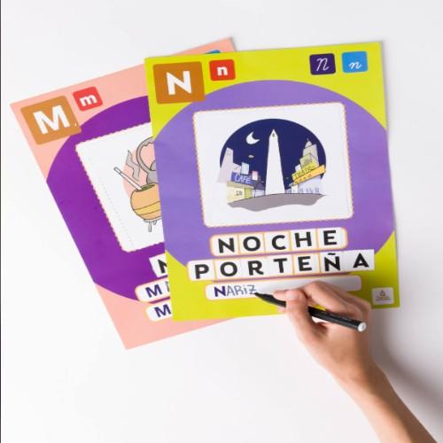 juego de lecto escritura para chicos