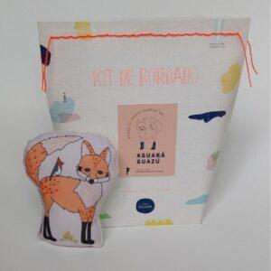 kit-de-bordado-zorro para ninos