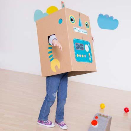 maxistickers-robot. para ninos