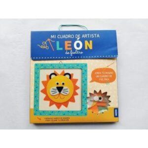 mi-leon-de-fieltro jugueteria online