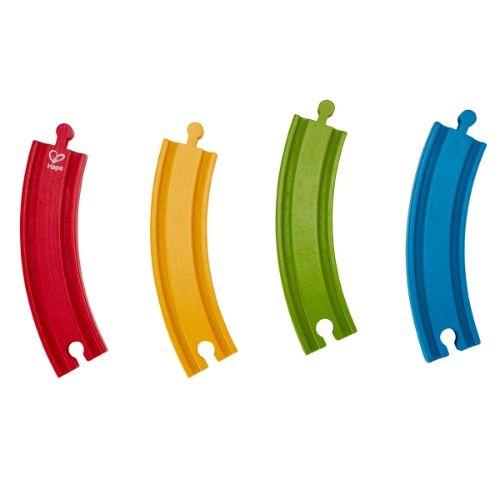 pack vias arcoiris hape juguetess para 18 meses