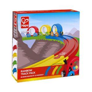 pack vias arcoiris hape juguetes para 18 meses