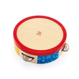 pandereta-hape-12meses. juguete didactico