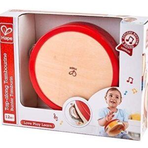pandereta-hape-12meses juguete para bebe