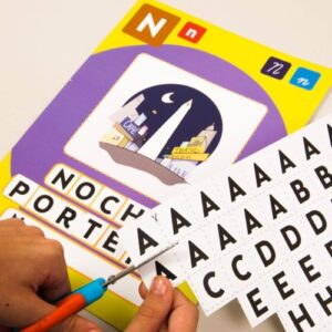 papitas quemadas ABC juego didactico