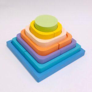 piramide-encastre juguete didactico