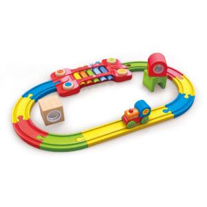 Hape-pista-sensorial juguete didactico