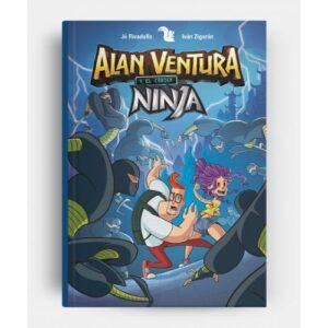 libro aventura ninja