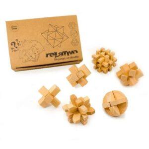 Bloques x 6 - juegos de ingenio