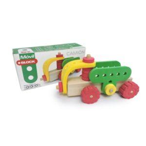 Camion-de-carga-madera-y-goma-eva-juguetes-didacticos