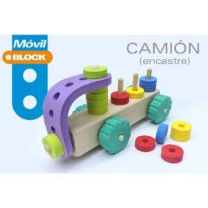 Camion-encastre-madera-y-goma-eva-juguetes-didacticos