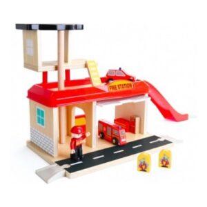 estacion de bombero de juguete
