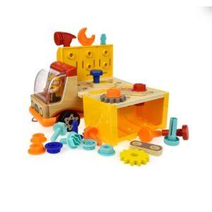 banco de trabajo y herramientas para jugar
