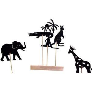 Set-de-titeres-de-sombra-Animales-juguetes-didacticos