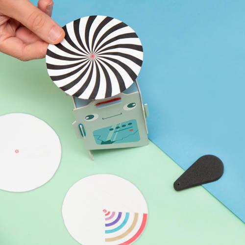 actividades para ninos efecto optico