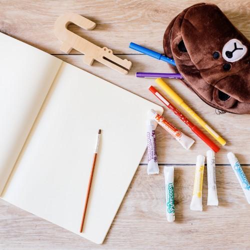 animales de madera para pintar