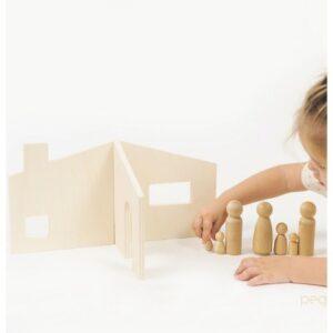 casa-pegland juguete didactico