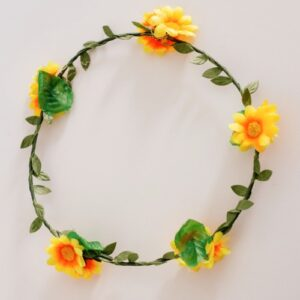 corona con flores jugueteria online
