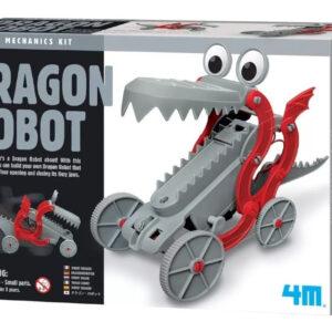 dragon robot 4m 8 anos