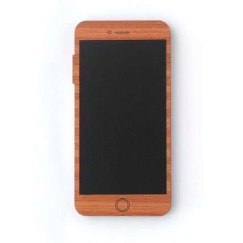 telefono smartphone de madera para jugar
