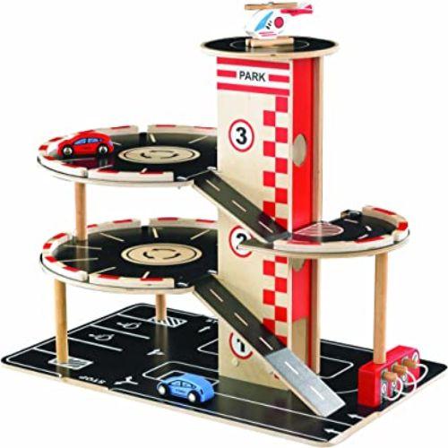 garage hape juguetes para 3 anos